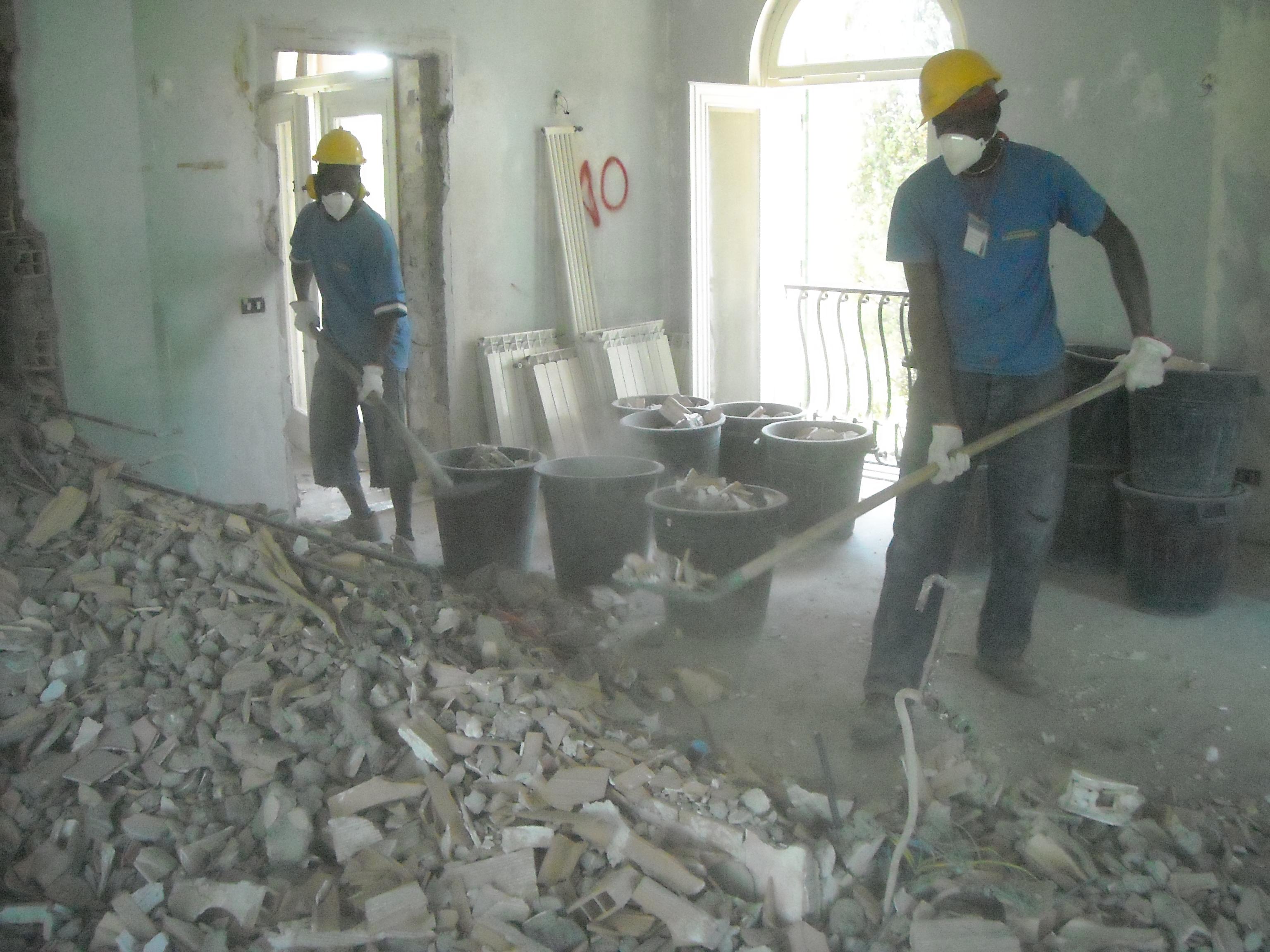 Edil Demolition Men srl Sgomberi